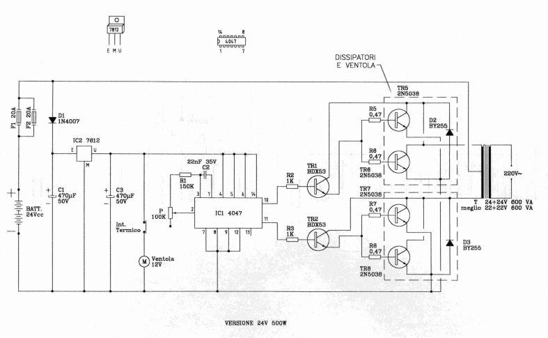 Schema Elettrico Inverter : Grix forum inverter a frequenza variabile su